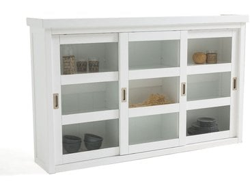 Vaisselier, 3 portes coulissantes, Inqaluit LA REDOUTE INTERIEURS Blanc