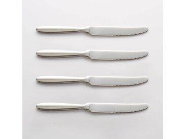 Lot 4 couteaux inox, RAKINEN LA REDOUTE INTERIEURS Inox