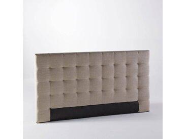 Tête de lit capitonnée Selve, H100 cm AM.PM Lin Naturel