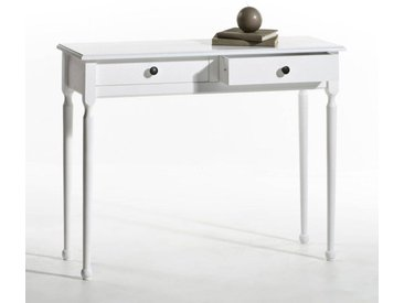 Console 2 tiroirs, Authentic Style LA REDOUTE INTERIEURS Blanc