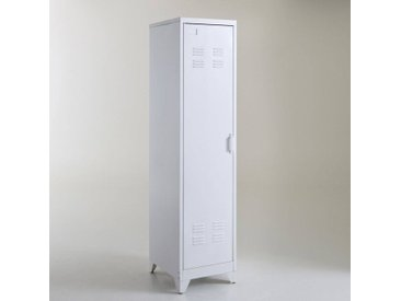 Armoire vestiaire américain métal, Hiba LA REDOUTE INTERIEURS Blanc