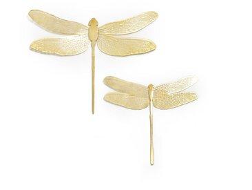 Lot de 2 libellules décoratives, Strakaza LA REDOUTE INTERIEURS Laiton