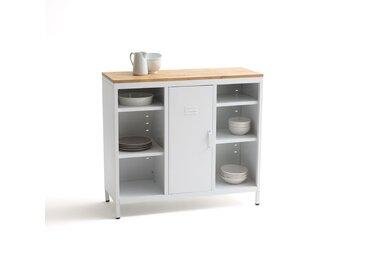 Meuble de cuisine 1 porte HIBA LA REDOUTE INTERIEURS Blanc