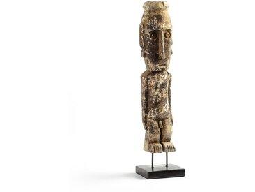 Statuette bois H47 cm, Semarang AM.PM Beige