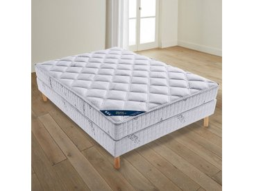 Matelas latex confort luxe ferme 3 zonesREVERIE BESTBlanc/Gris