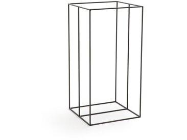 Porte-bûches métal H100 cm, Sylvain AM.PM Noir