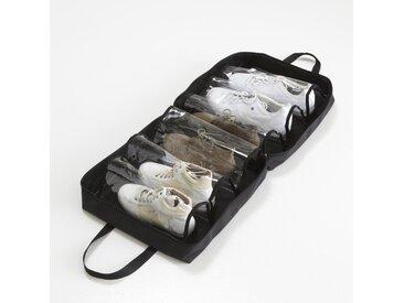 Sac range chaussures, 6 poches LA REDOUTE INTERIEURS Noir