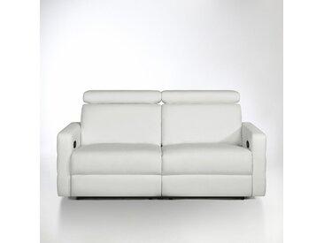 Canapé de relaxation cuir, Hyriel LA REDOUTE INTERIEURS Blanc