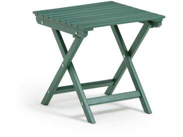 Table basse pliante Zeda en acacia LA REDOUTE INTERIEURS Vert Eucalyptus