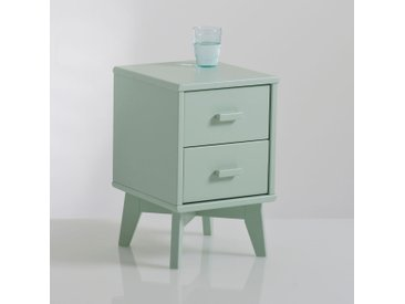 Chevet 2 tiroirs, Anda LA REDOUTE INTERIEURS Bleu Céladon