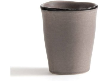Lot de 4 tasses en faïence Catalpin AM.PM Gris