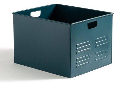 Caisse en métal, HIBA LA REDOUTE INTERIEURS Bleu De Prusse