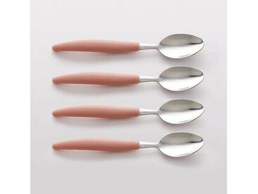 Lot 4 cuillères à soupe, FORKESTER LA REDOUTE INTERIEURS Rose