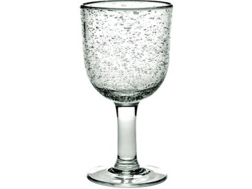 4 verres à vin Pure design P. Naessens Serax AM.PM Transparent
