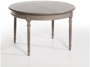 Table ronde à allonges Ø120 cm, Concorde AM.PM Taupe