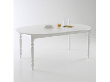 Table ronde, 4 à 8 couverts, Authentic Style LA REDOUTE INTERIEURS Blanc