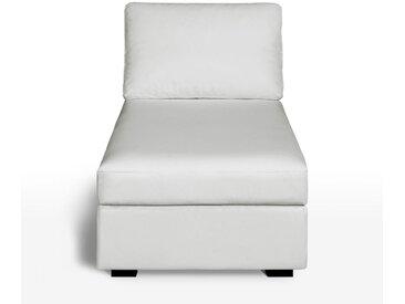 Méridienne cuir, confort supérieur, Robin LA REDOUTE INTERIEURS Blanc