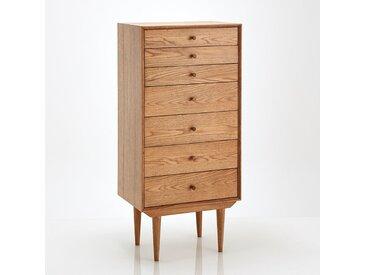 Semainier semainier vintage, 7 tiroirs, Quilda LA REDOUTE INTERIEURS Bois Clair Chêne