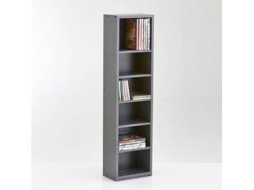 Étagère range CD/DVD, hauteur 1 mètre, Everett LA REDOUTE INTERIEURS Gris Anthracite