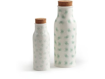 Lot 2 carafes en céramique, SURAKI LA REDOUTE INTERIEURS Imprimé