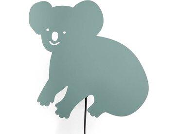 Applique enfant en métal Koala LA REDOUTE INTERIEURS Vert De Gris