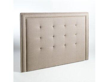 Tête de lit pur lin H135cm, Hampstead AM.PM Lin Naturel