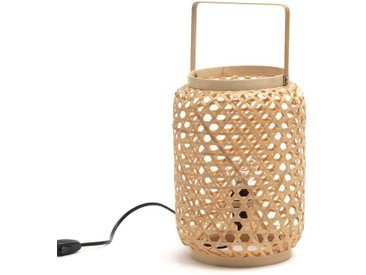Lampe à poser en bambou ISKA LA REDOUTE INTERIEURS Naturel