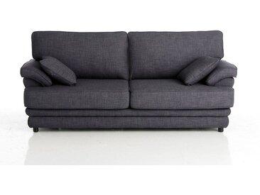 Canapé 2 ou 3 places, fixe, confort supérieur, chi LA REDOUTE INTERIEURS Gris Anthracite Chiné