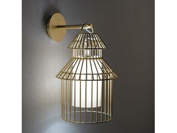 Applique cage à oiseau enfant, Cuicuicui AM.PM Métal