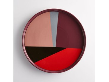 Plat de service céramique multicolore DRISKOL LA REDOUTE INTERIEURS Multicolore