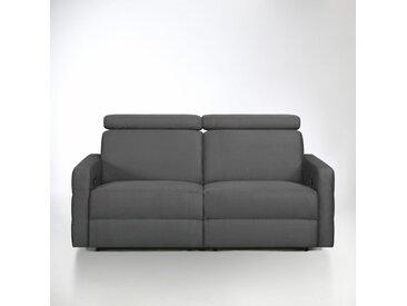 Canapé de relaxation microfibre, Hyriel LA REDOUTE INTERIEURS Anthracite