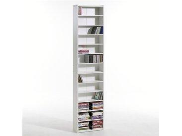 Étagère range CD/DVD, hauteur 2 mètres, Everett LA REDOUTE INTERIEURS Blanc