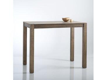 Table haute bar 4 couverts, Lunja LA REDOUTE INTERIEURS Bois Clair Naturel