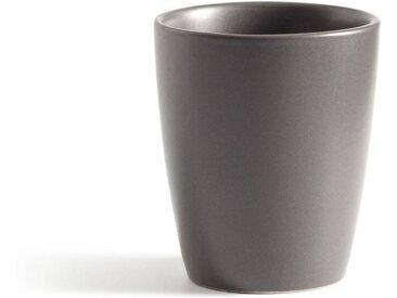 Lot 4 mugs faïence mat MELYA LA REDOUTE INTERIEURS Anthracite