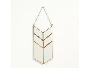 Miroir forme amulette en métal, Uyova LA REDOUTE INTERIEURS Laiton