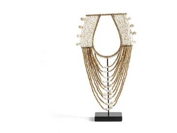 Objet décoratif en perles, Timorus AM.PM Naturel