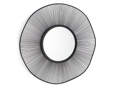 Miroir soleil filaire, Spyk LA REDOUTE INTERIEURS Noir