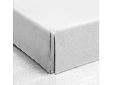 Cache-sommier coton, plis creux, Touril AM.PM Blanc