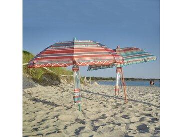 Parasol de plage,FOLD LA REDOUTE INTERIEURS Rayé Orange