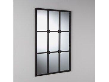 Miroir style fenêtre, Lenaig LA REDOUTE INTERIEURS Noir