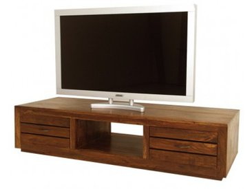 Meuble Tv tiroirs Okina palissandre
