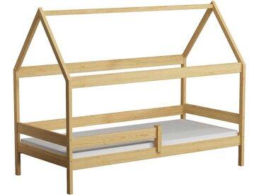 Lit cabane en bois Domek - Pin - 90 cm x 180 cm
