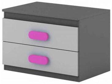 Table de chevet enfant personnalisable Play - Violet