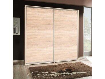 Armoire portes coulissantes 205 cm - Chêne Sonoma