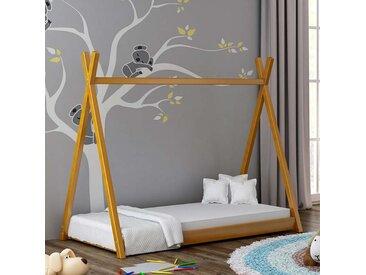 Lit cabane Tipi pour enfant - Aulne - 70 cm x 160 cm