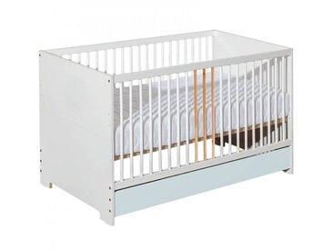 Lit bébé 140x70 Chloé - Gris