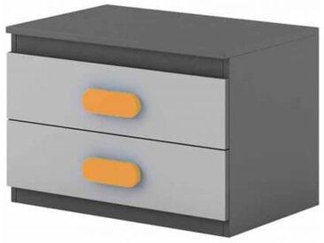 Table de chevet enfant personnalisable Play - Orange