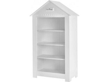 Bibliothèque blanche cabine de plage pour enfant
