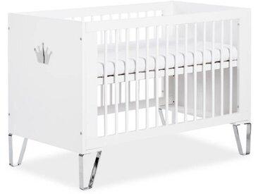 Lit bébé 120cm - Blanc