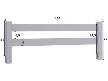 Barrière anti-chute pour lit enfant, gigogne et superposé - Blanc,Pin,Graphite,Hêtre